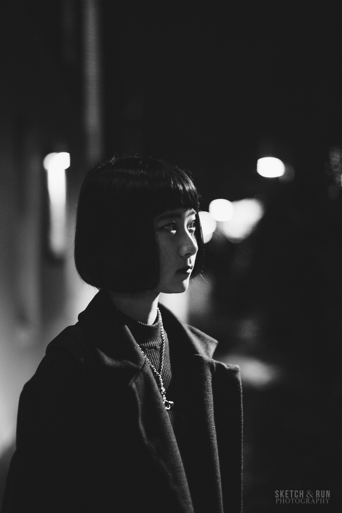 vivid sydney, portrait, tokumaki, portrait photography