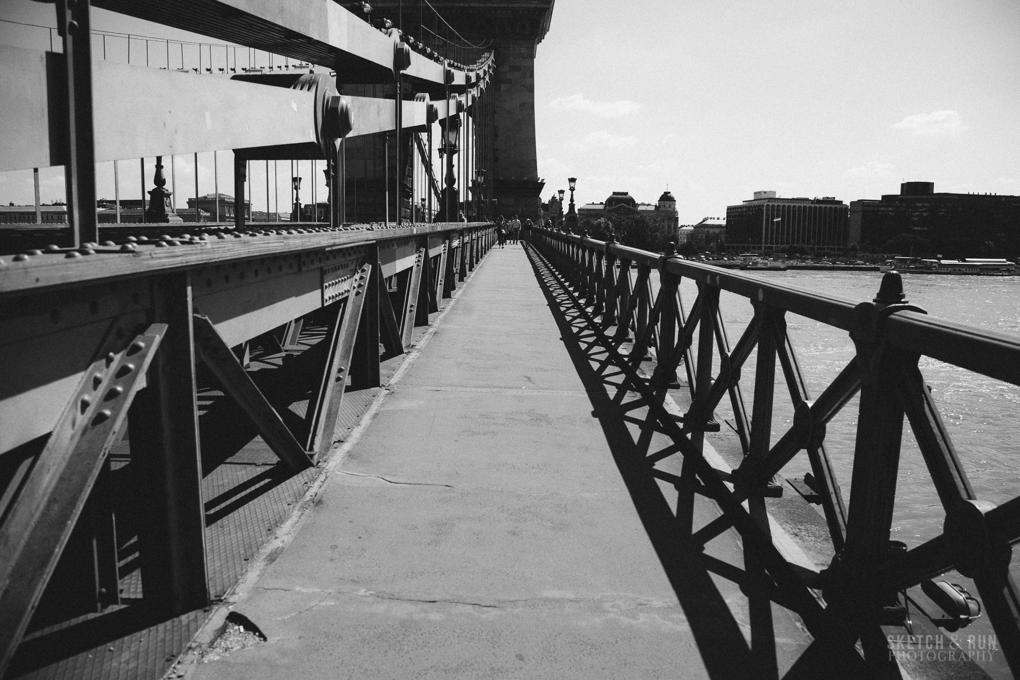 budapest, chain bridge, hungary, bridge