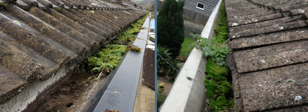 Are you tired of your old concrete gutters?