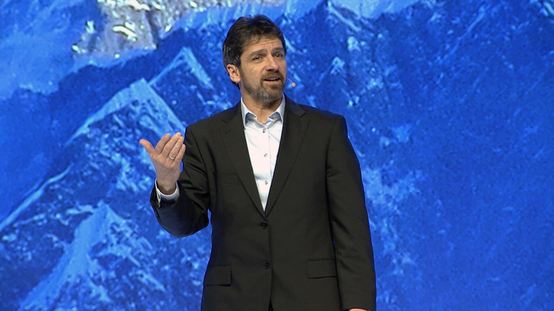 Jim public speaking