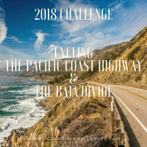 Sarah's next challenge is to cycle from Vancouver to Cabo San Lucas