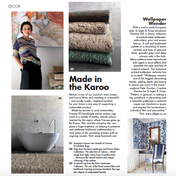 Made in the Karoo -  Sawubona Magazine