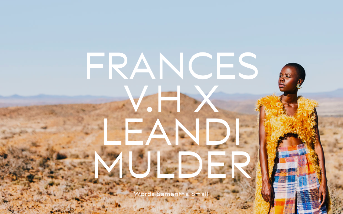 Frances van Hasselt and Leandi Mulder's collaboration gives South African mohair the love and future it deserves -  NATAAL