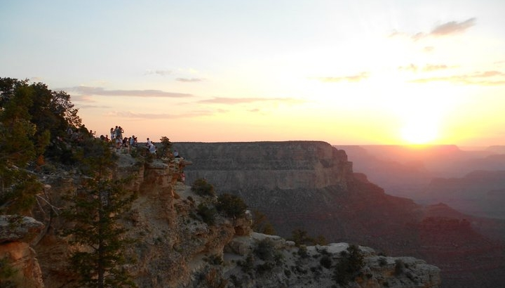Sunset over the Grand Canyon, just feels right...