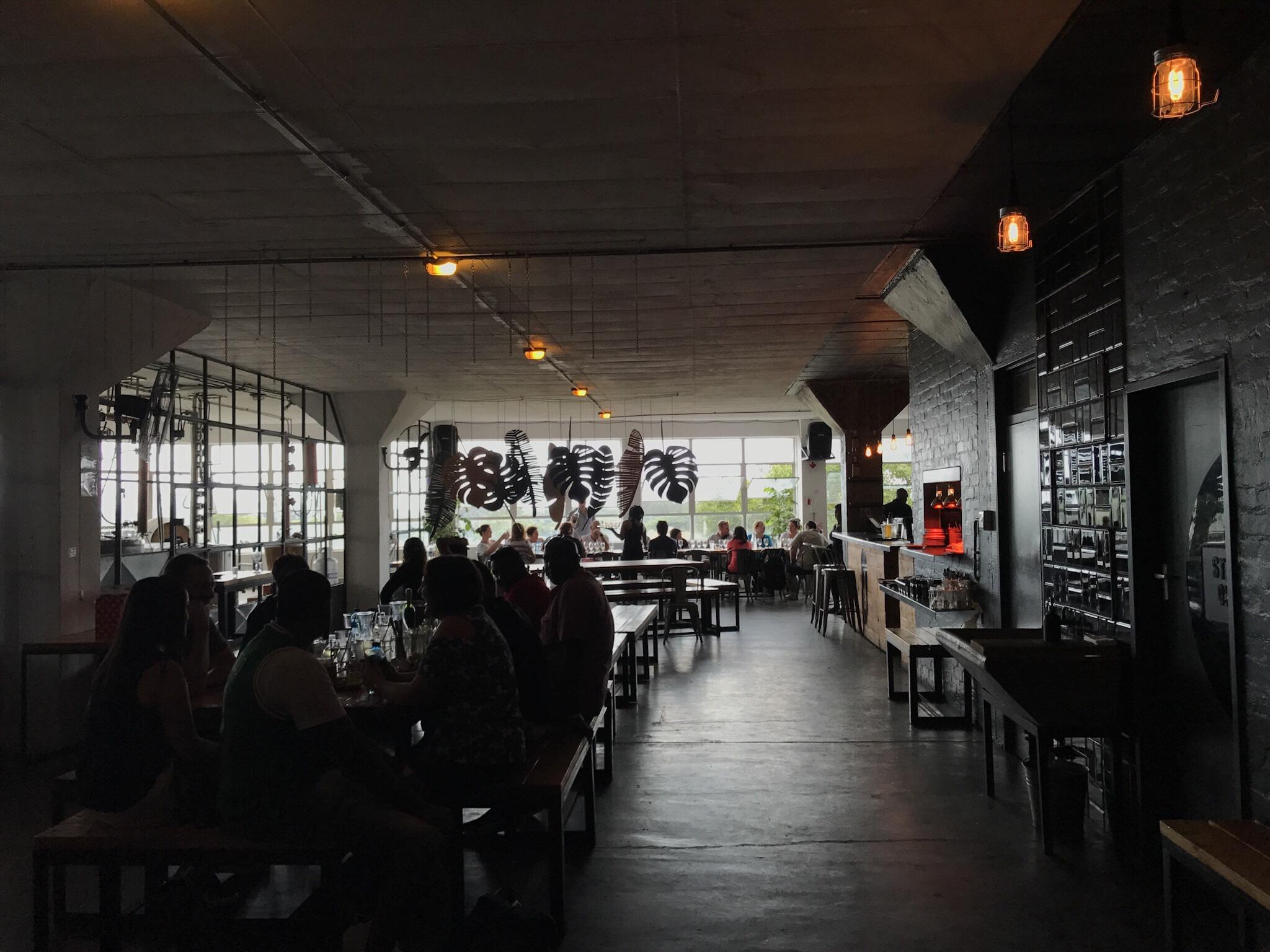 Urban vibe at Distillery 031
