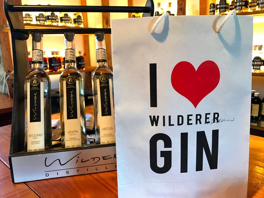 Wilderer Fynbos Gin uses 27 botanicals, 18 of which are fynbos.