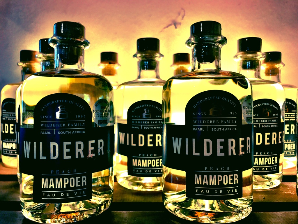 Mampoer is the South African version of moonshine. Wilderer mampoer is a refined version.