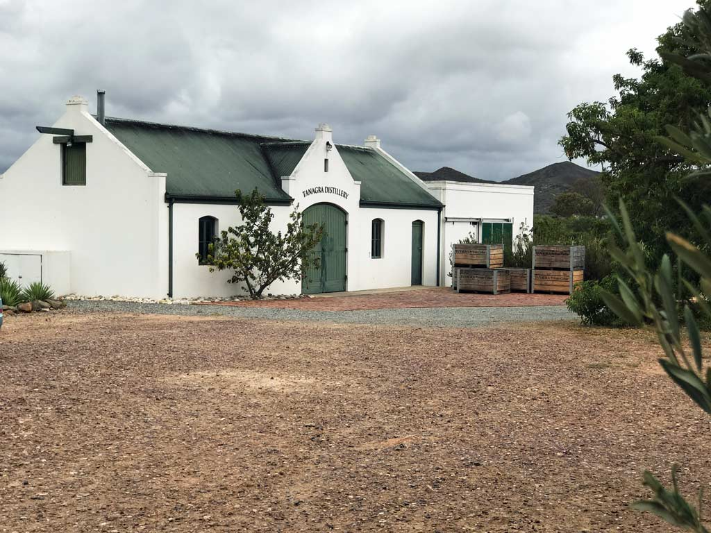 The distillery itself is in a converted horse barn.