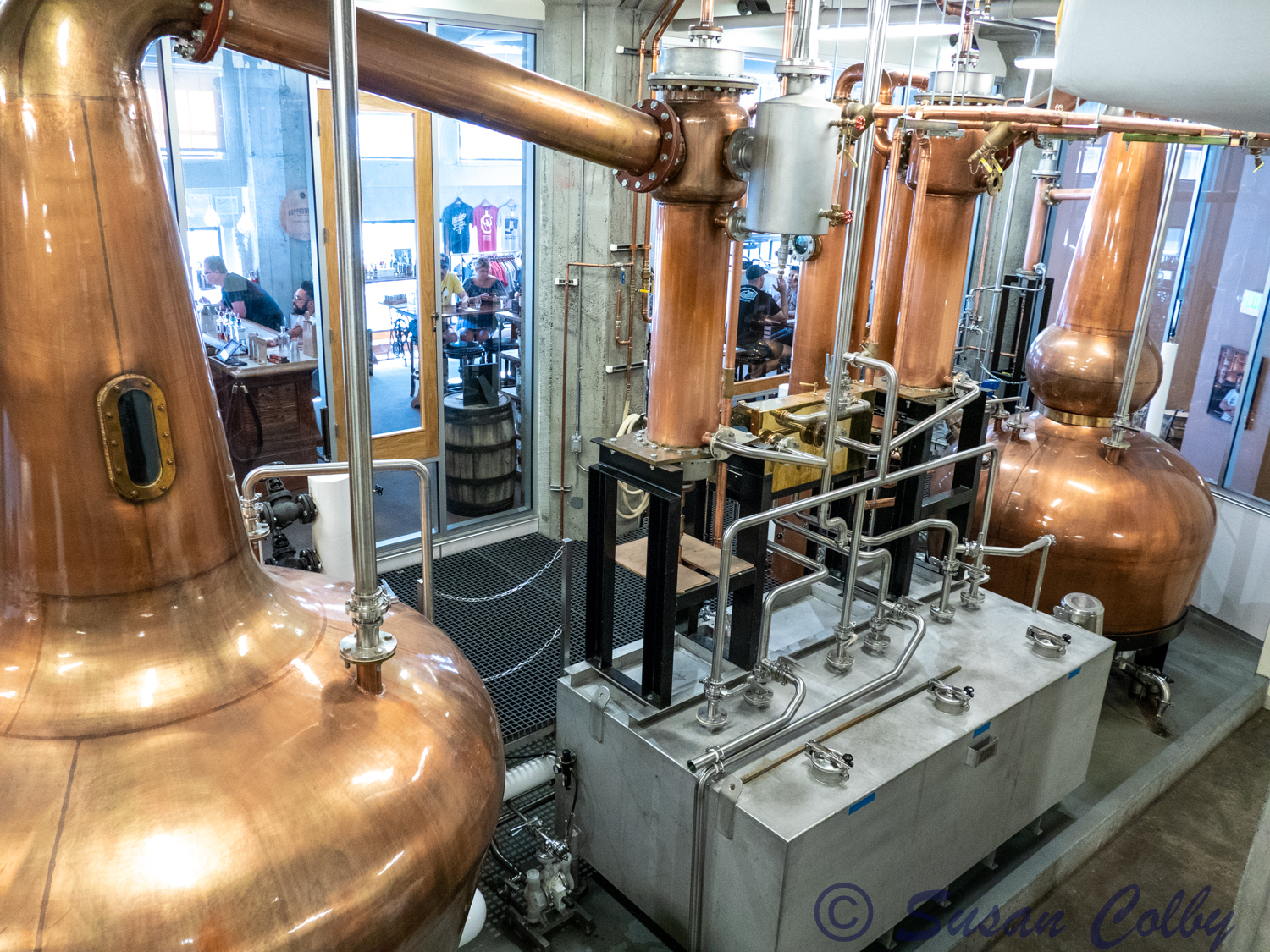 Copperworks Distillery on the Seattle Waterfront
