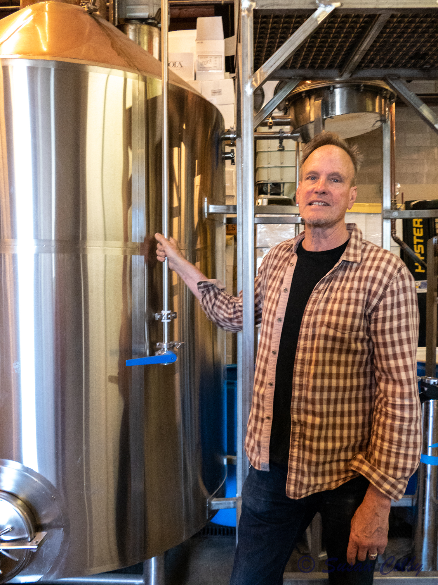 Kirby Kalla-Lewis, owner and head distiller at OOLA Distillery