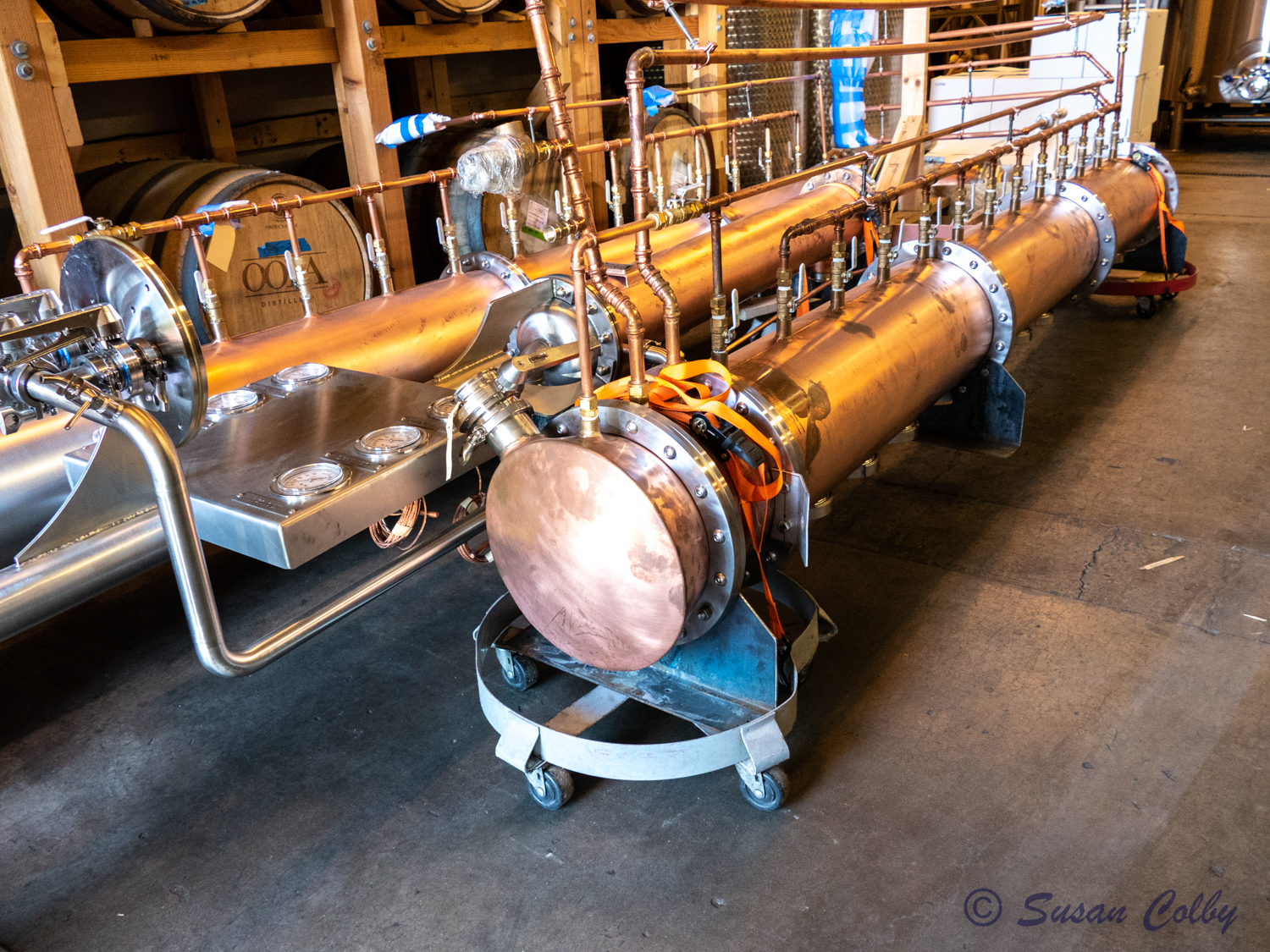Vendome Copper Still waiting for installation