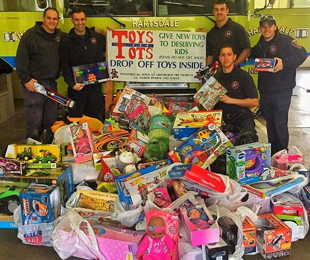 We would like to thank everyone who donated Toys for Tots at your local Greenburgh Fire Stations - A special thank you goes out to Exquisite Tile & Design for donating several truck loads of toys. The toys will go long way to making less fortunate kids' Christmas wishes come true.