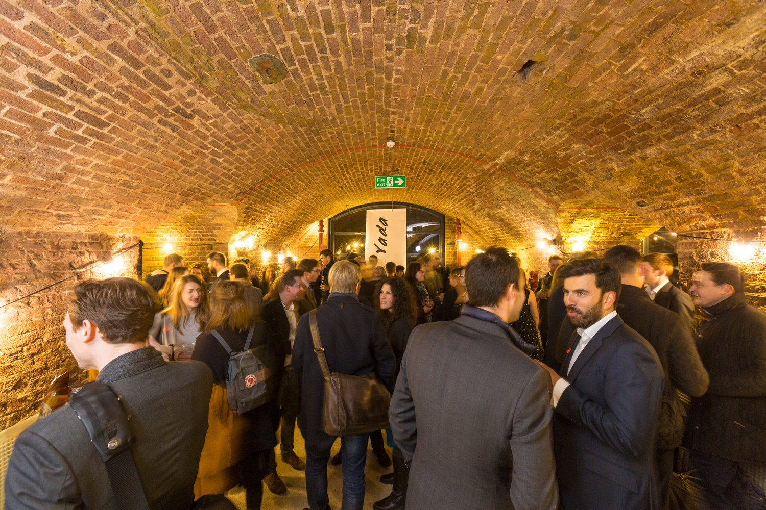 Yada@ Fish and Coal Building - King's Cross   Sponsors: Argent & David Morley Architects  9th March 2017
