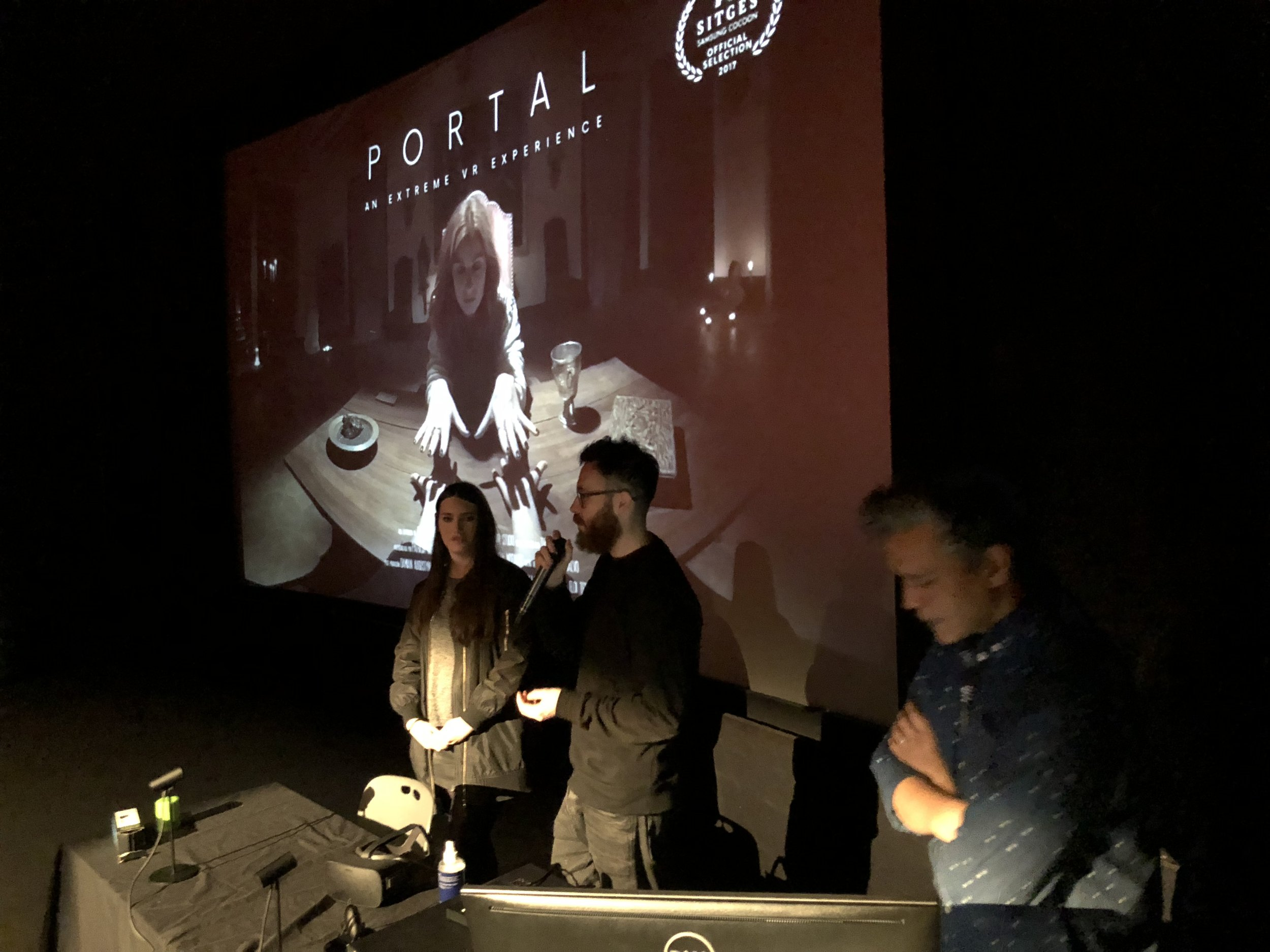 Q&A with Adrián Ruíz del Cerro and Patricia M. Val, Director and Producer of Portal: An Extreme VR Experience