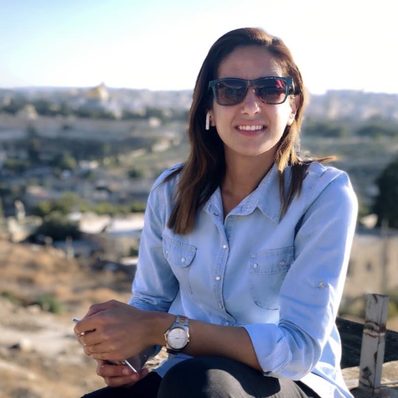 Christine Khaled Rinawi(Palestine)