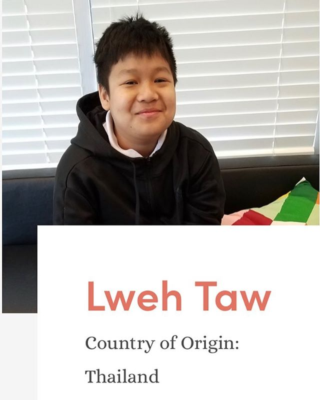 Meet some of our younger students! Here is Lweh from 5th grade.  Lweh is a quiet kid with a great sense of humor. His favorite color is red. He loves to eat rice. When he isn't working on school work, he likes to draw. Sometimes he also plays sports like basketball.  Lweh needs 10 sponsors. For just $45.00 a month you can sponsor Lweh! Link in bio to sponsor him!