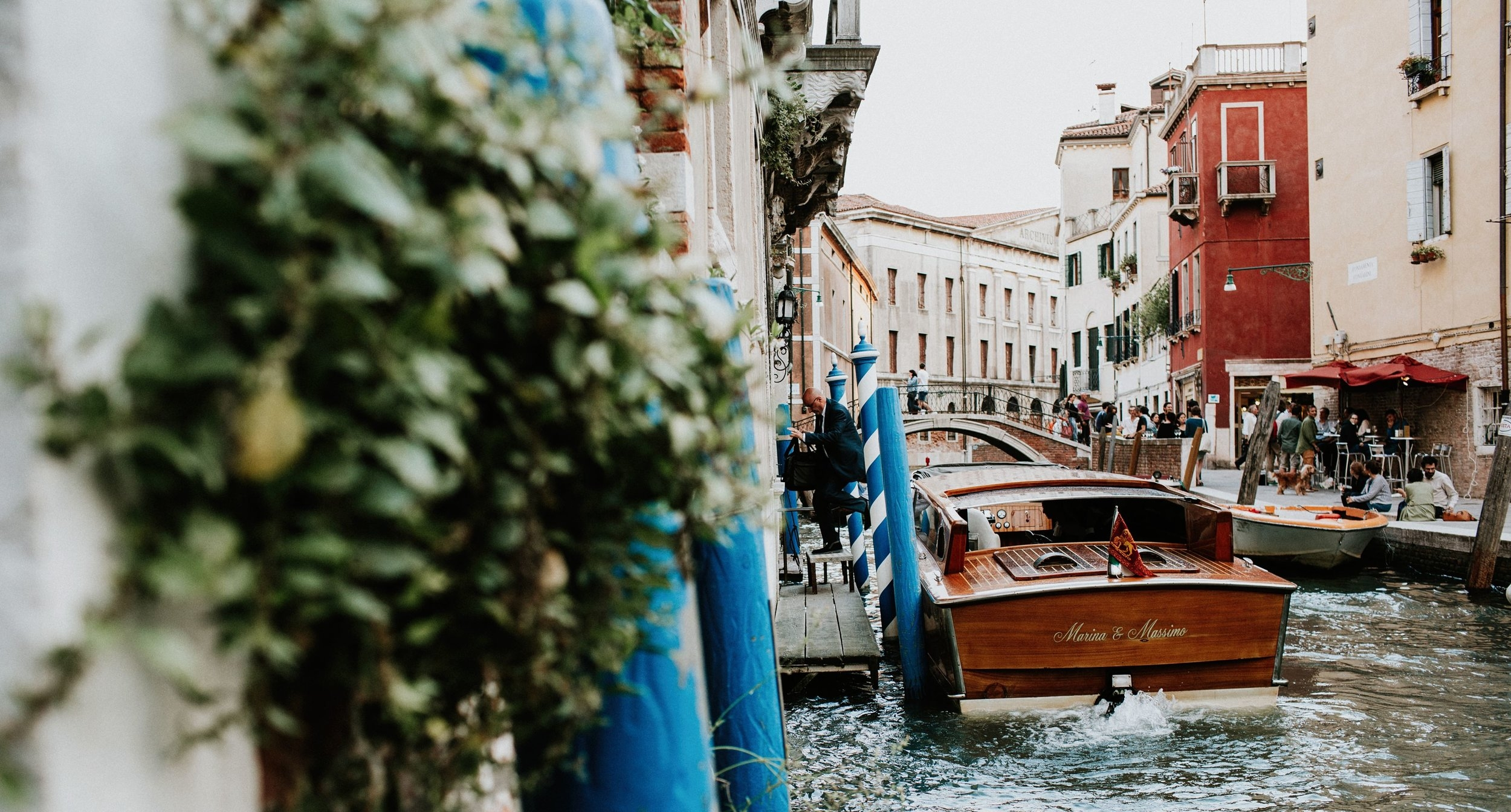 Water Taxis - From organising transfers around Venice to enjoying a beautiful sunset aboard with a glass of Prosecco and delicious Venetian Cicchetti, we can provide you with a stress-free experience.