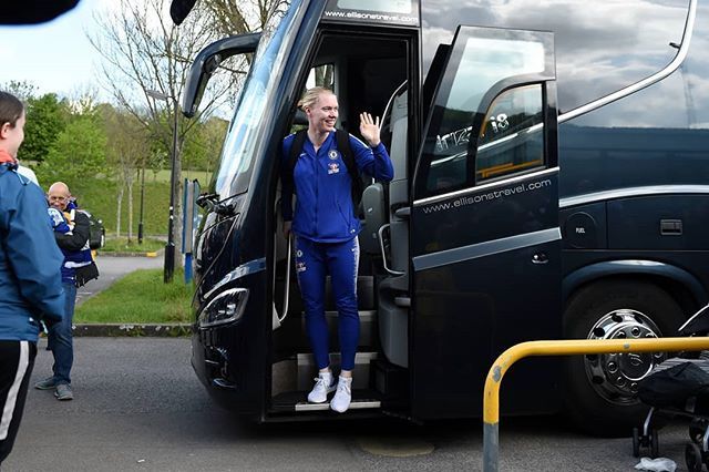 So, where to start about yesterday?  What picture best represents all the years I've represented a big club like @chelseafcw?  One doesn't do, so I've decided to share a selection as I've now travelled on the teambus for the last time.  #ThanksForEverything #KTBFFH