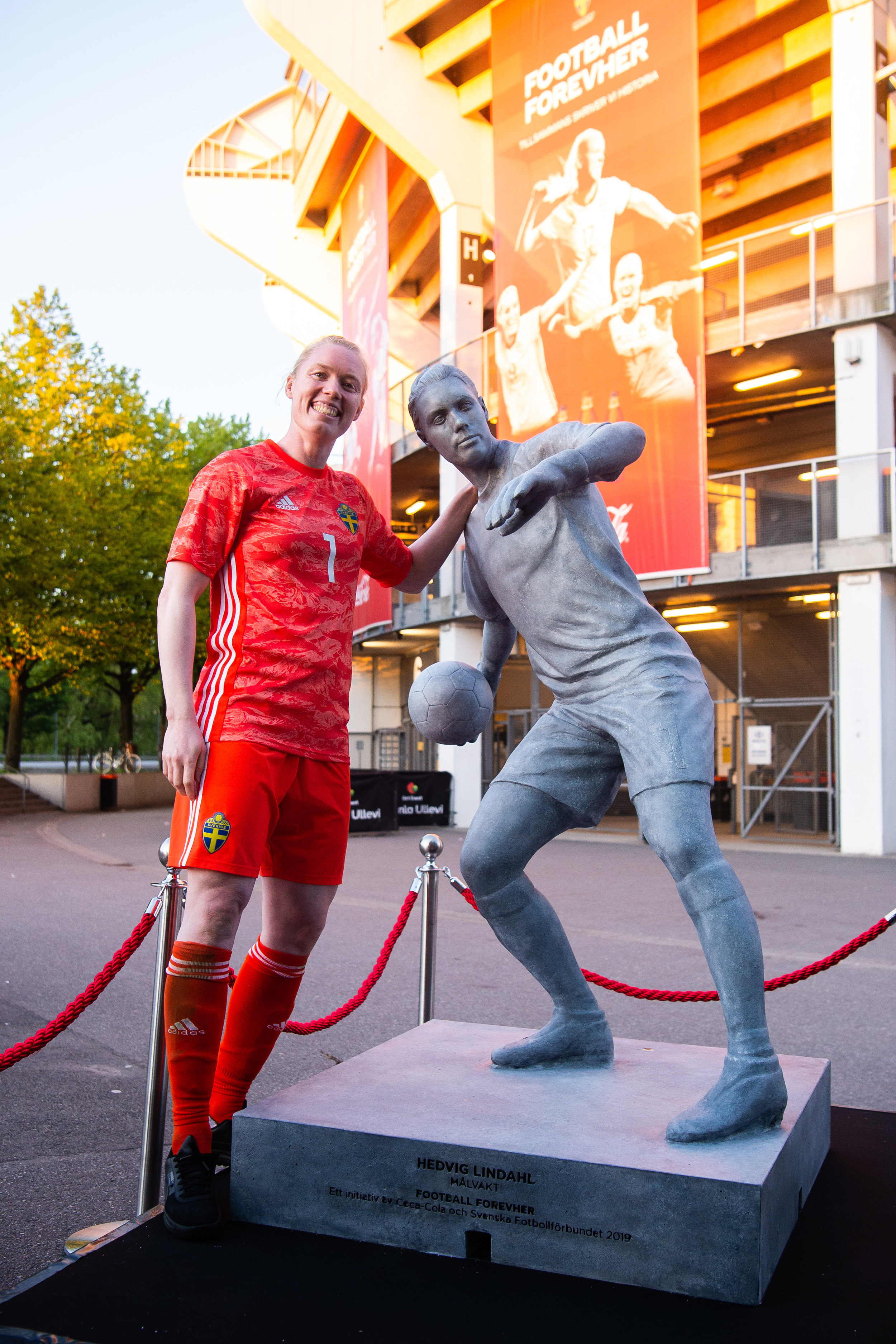 #FootballForevHer - An initiative by Coca-Cola Sweden and the Swedish FA