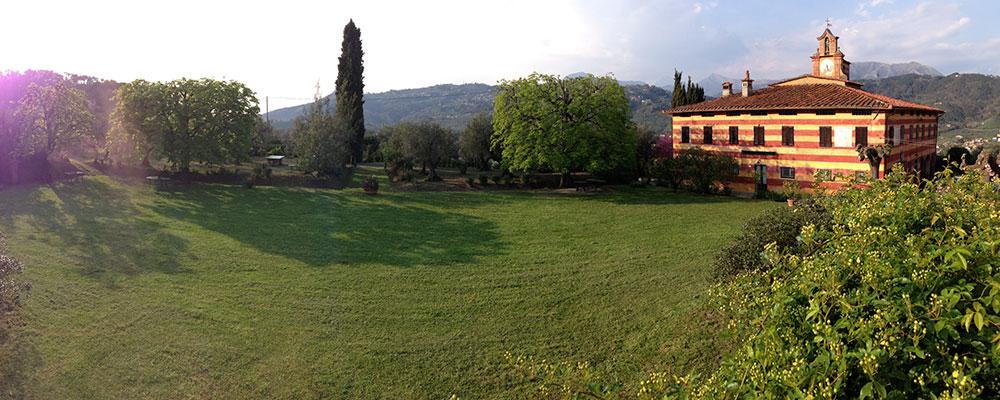 La Fattoria Di Camporomano, in Toscana, dove ha luogo la maggior parte dei workshop di Ritratto con Enzo Dal Verme