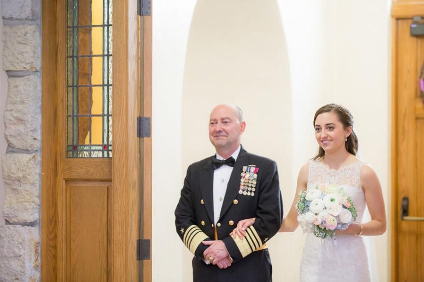 Naval Wedding