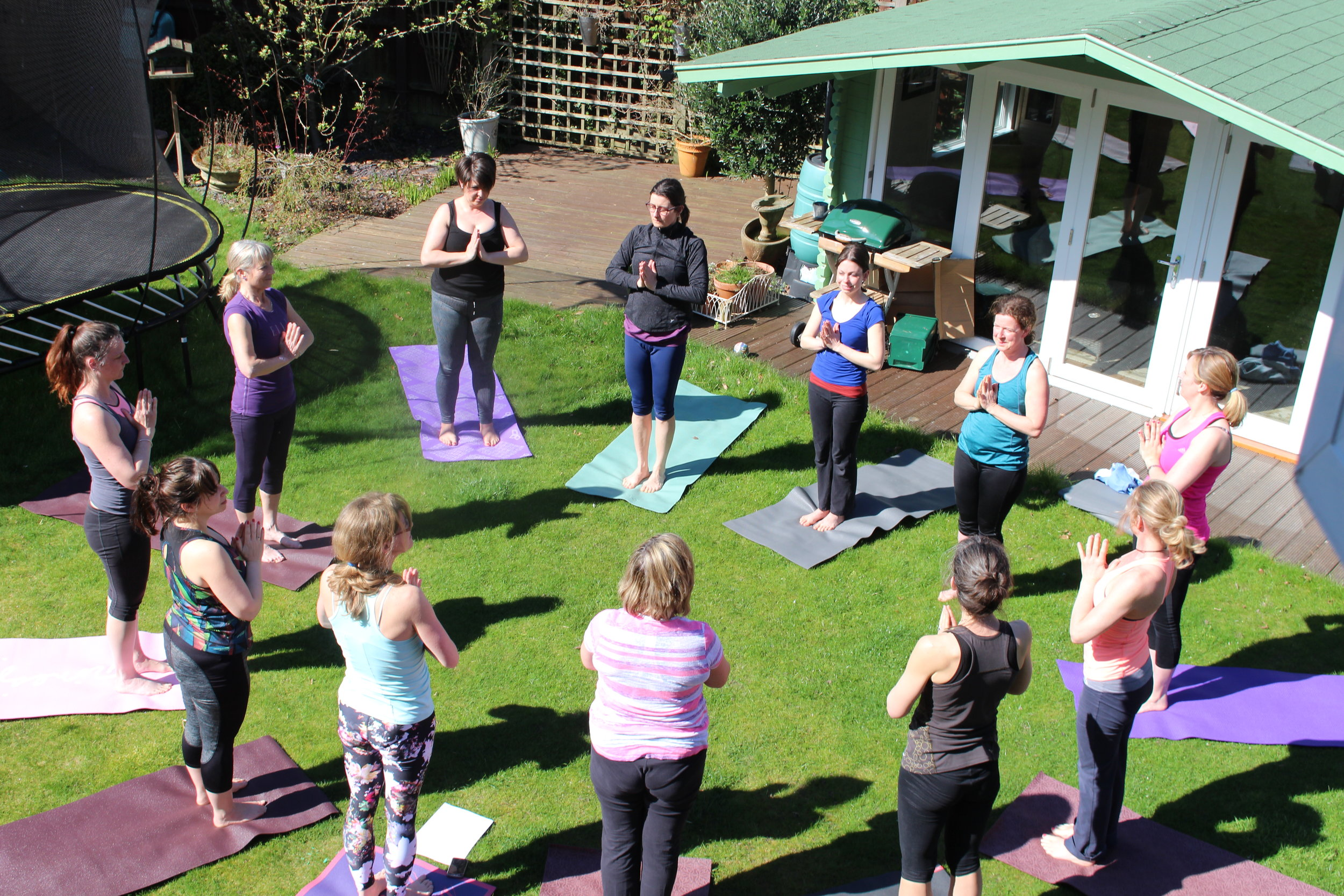Sunday Workshop: Spring into Summer Sun Salutations