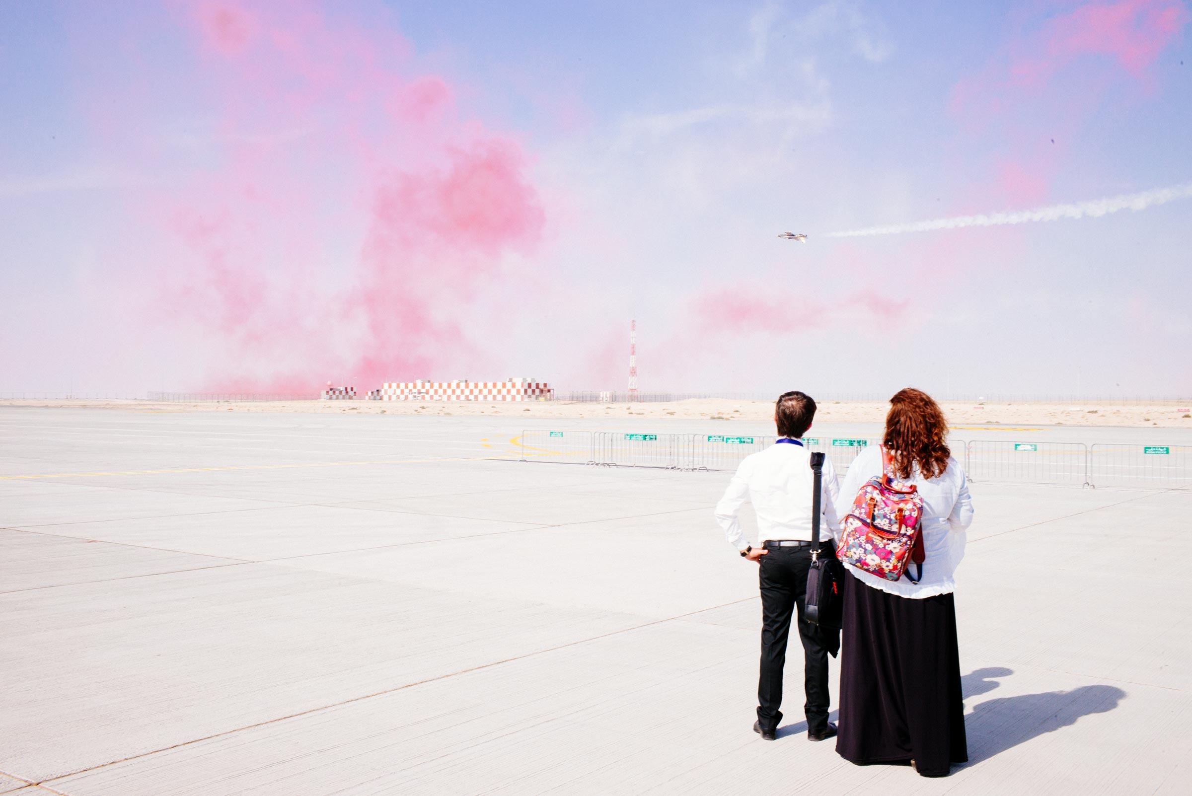 Wired , client  Dubai Airshow  Dubai, UAE
