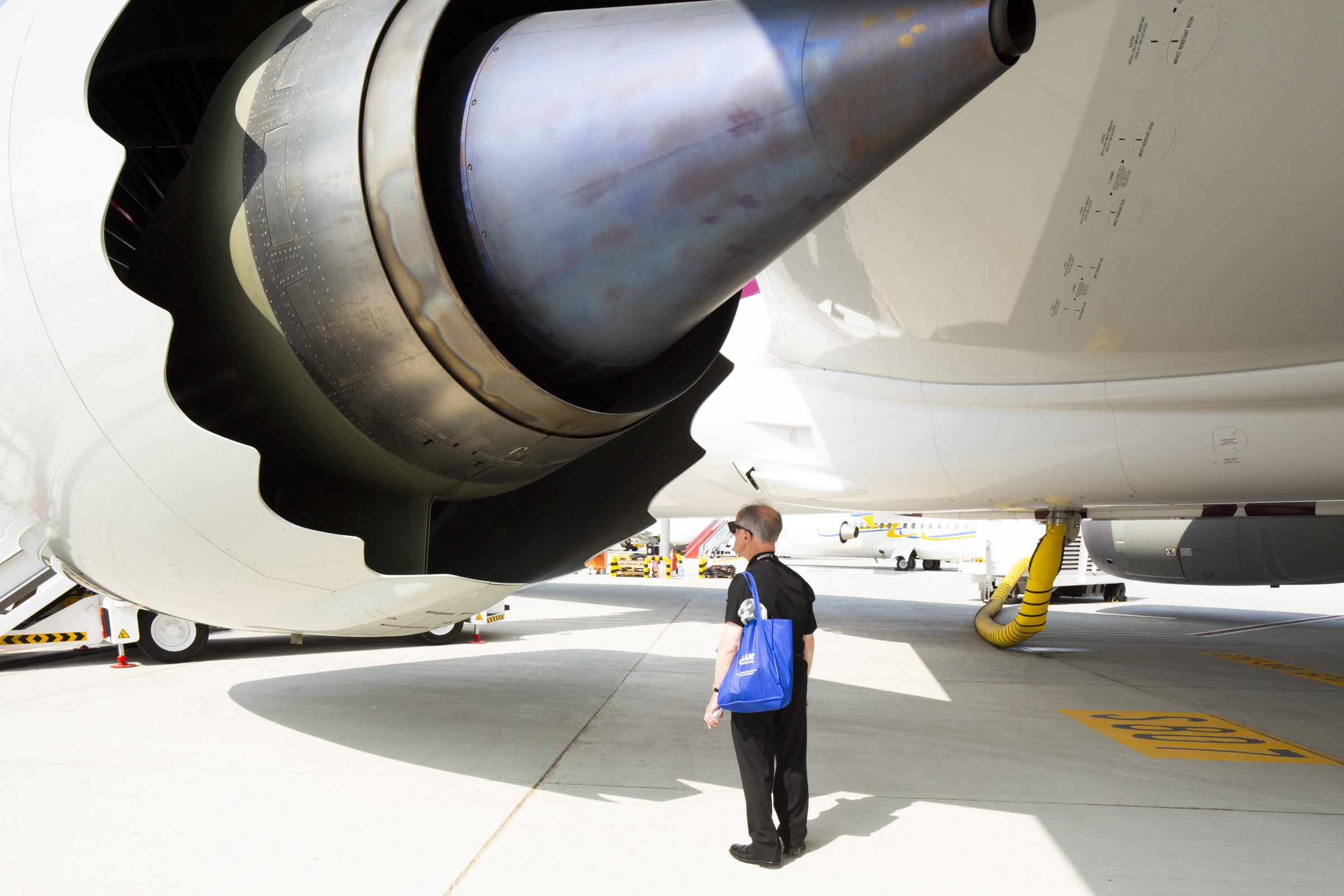 Wired , client  B787, Dubai Airshow  Dubai, UAE
