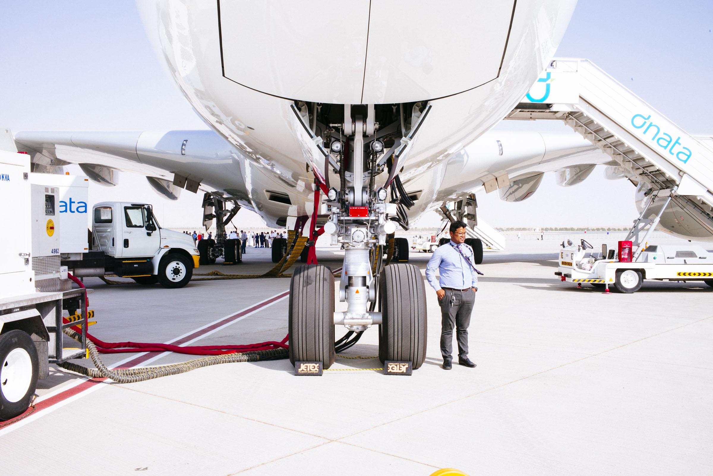 Wired , client  A380, Dubai Airshow  Dubai, UAE
