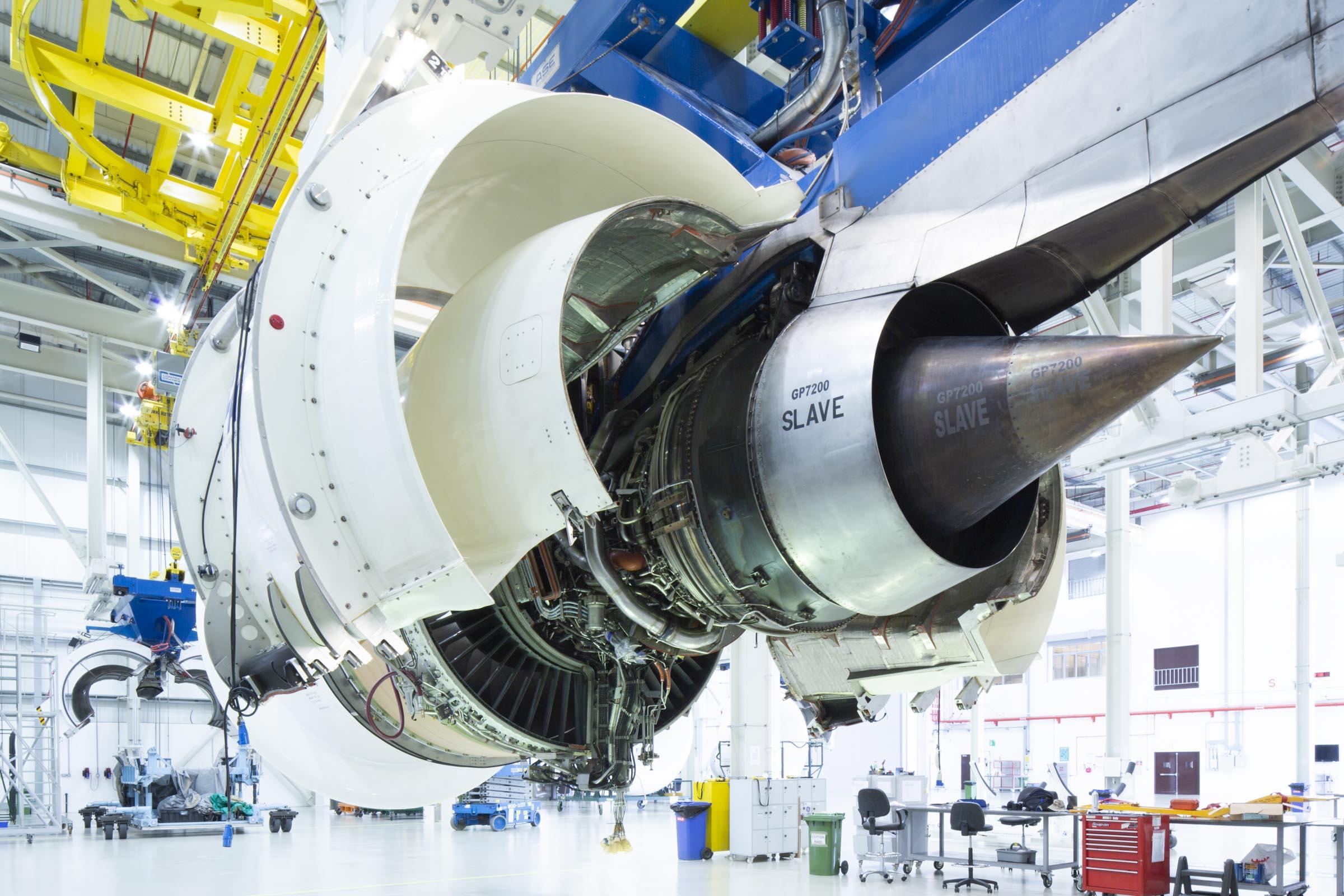 Airbus A380 engine MRO, Dubai UAE