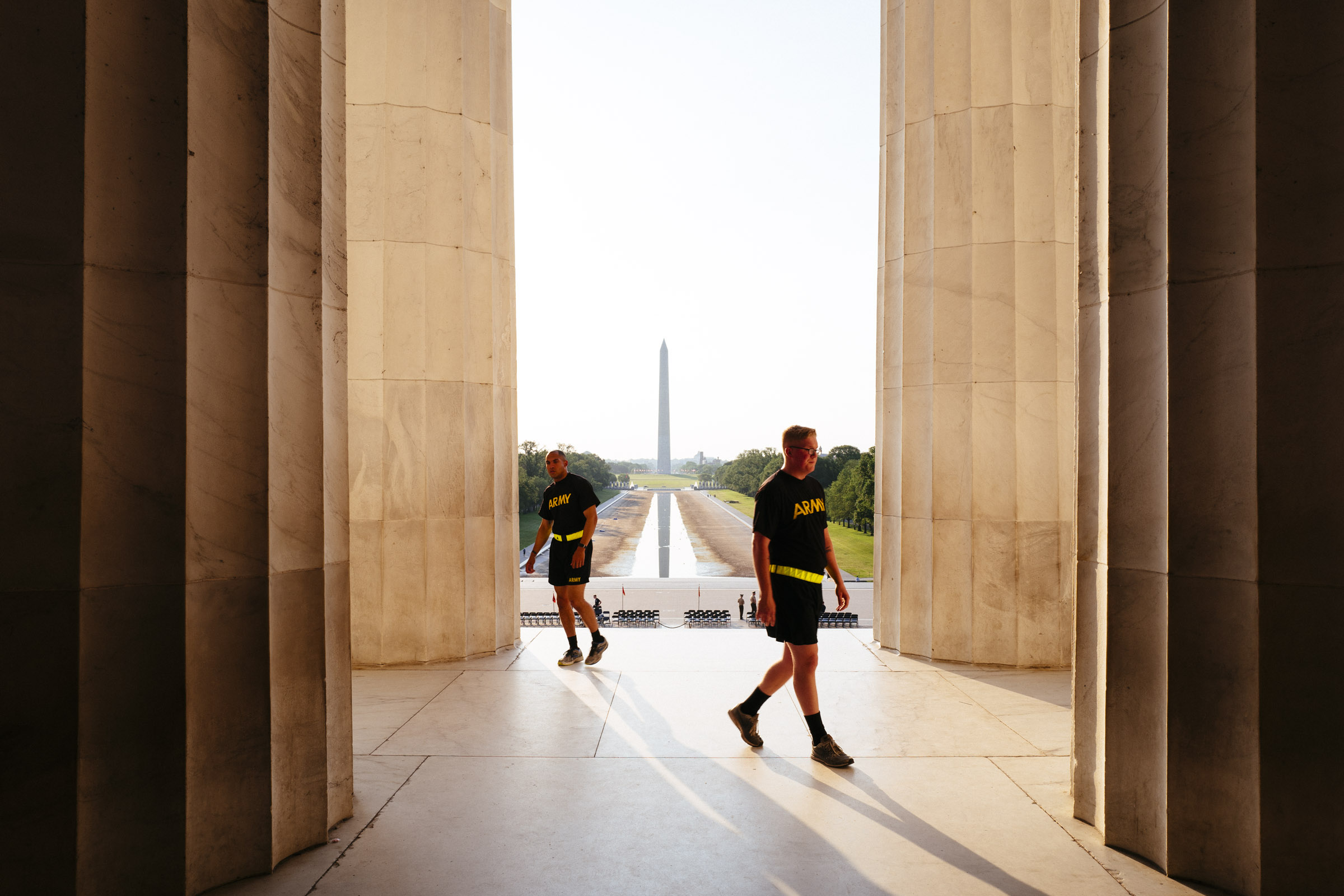 US Army, Lincoln Memorial