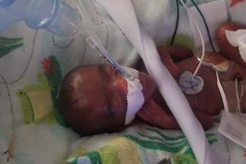 Baby Saybie at Sharp Mary Birch Hospital