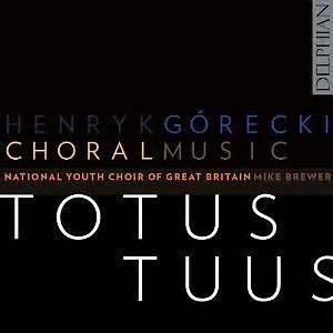 The National Youth Choir of Great Britain    Totus Tuus (2011)