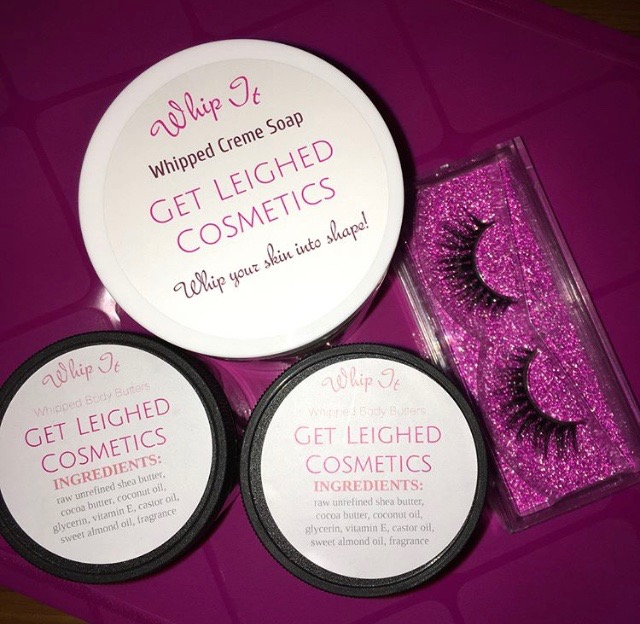 SHE'S RI-FRESHING: EVELYN LEIGH, OWNER OF GET LEIGHED COSMETICS