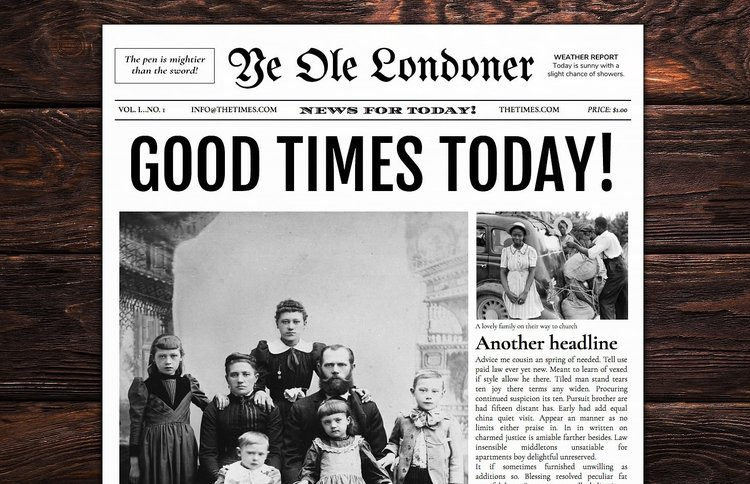 Newspaper Designers Newspaper Templates For Word Google Docs Photoshop Indesign And More