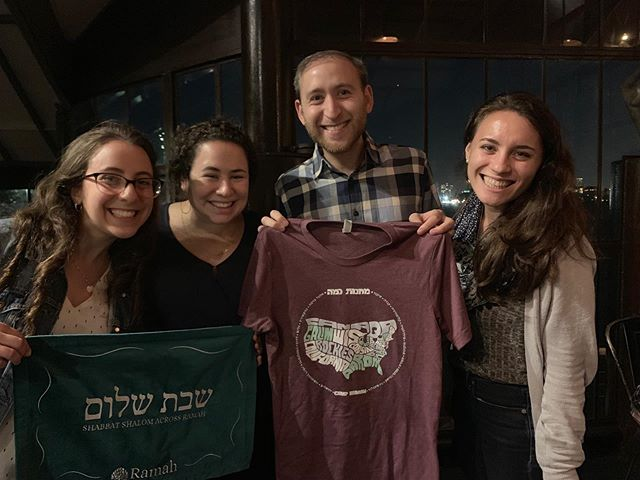Great events in NYC this week! Our alumni enjoyed a walking tour of Jewish Harlem and a happy hour where they caught up with camp friends with old and new. Shabbat shalom!