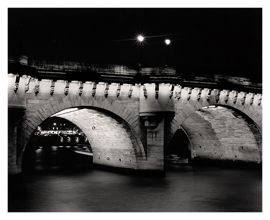 Night Bridge, Paris