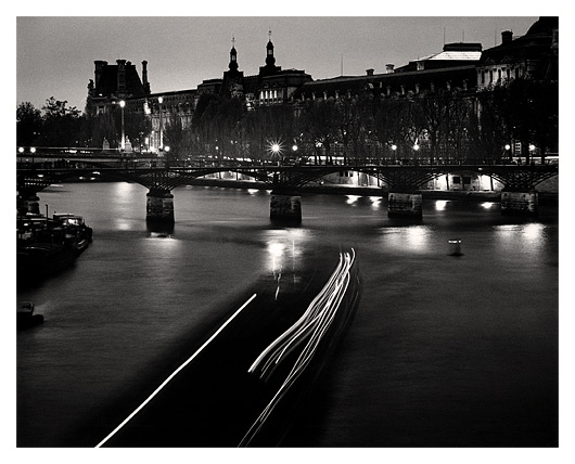 Boat Lights, Paris