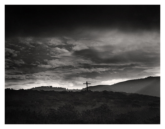 Cross, Carmel River