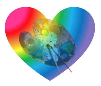 INSPIRE YOUR HEART WITH ART DAY! - Presented by:GroVer Flavors