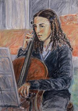 The Music Solo. SOLD