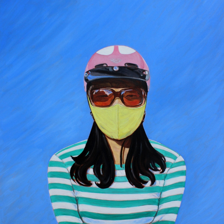 Sunglasses, Mask and Crash Helmet