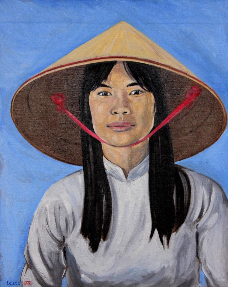 Portrait of a Vietnamese Woman