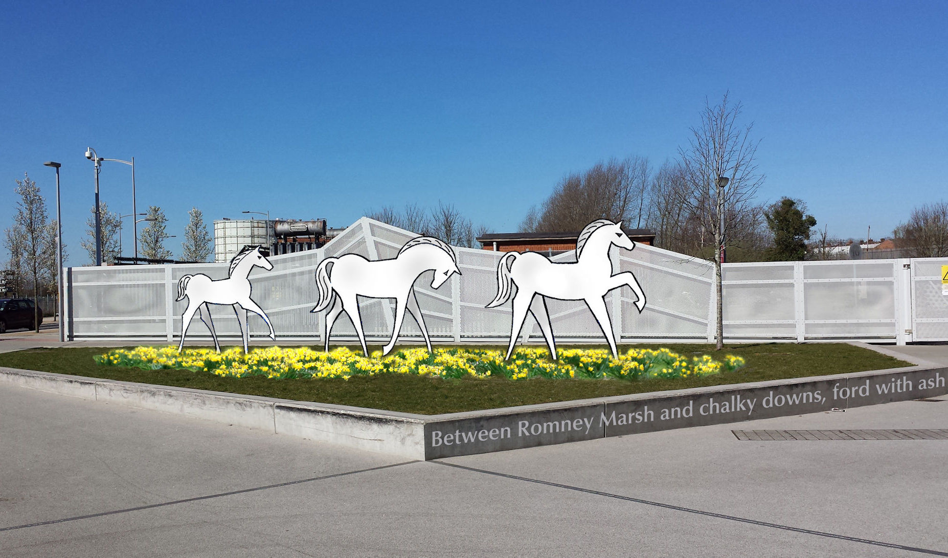 pROPOSED SITES FOR wHITE hORSES
