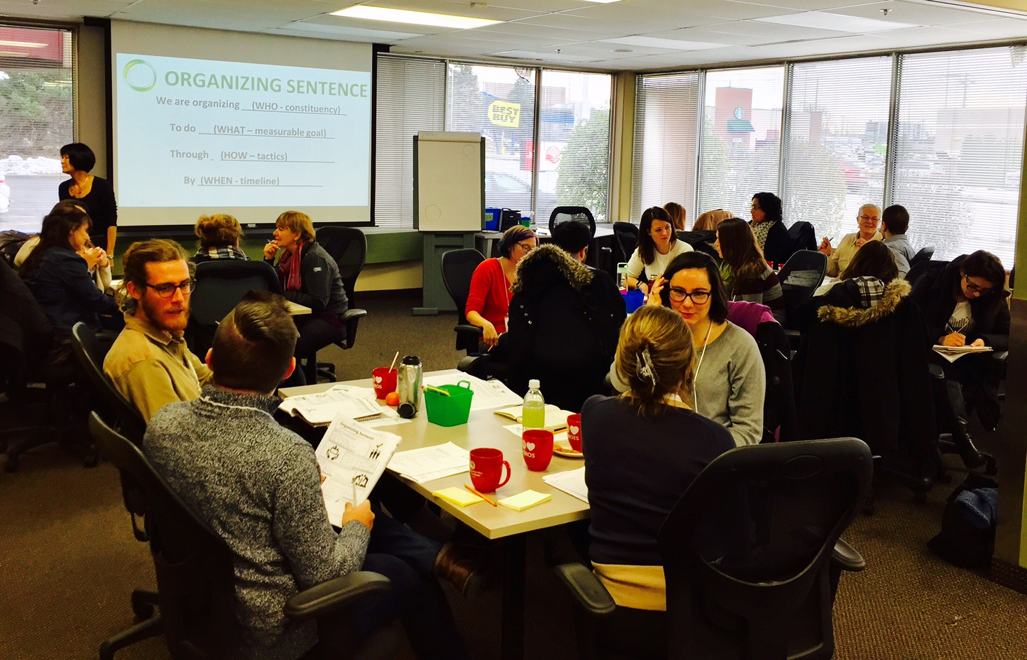 """Facilitating """"Building Skills for Change"""" with Olivia Chow and her team from  Institute for Change Leaders   Impact: Strengthening organizing skills for change leaders involved in social justice, climate justice and political change."""