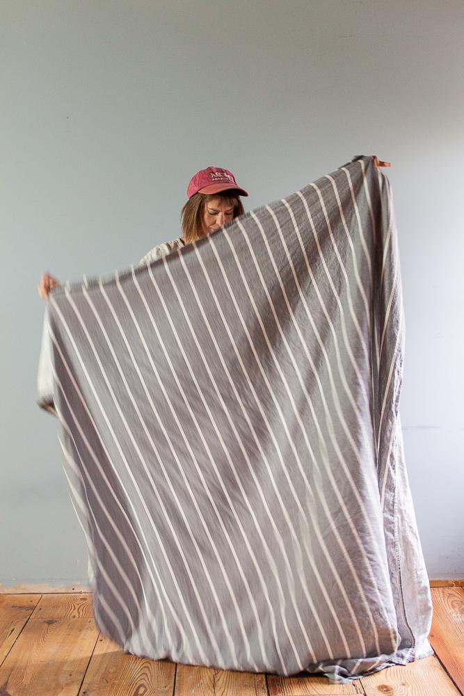 Thrifting fabric, secondhand fabric - Sarah Kirsten