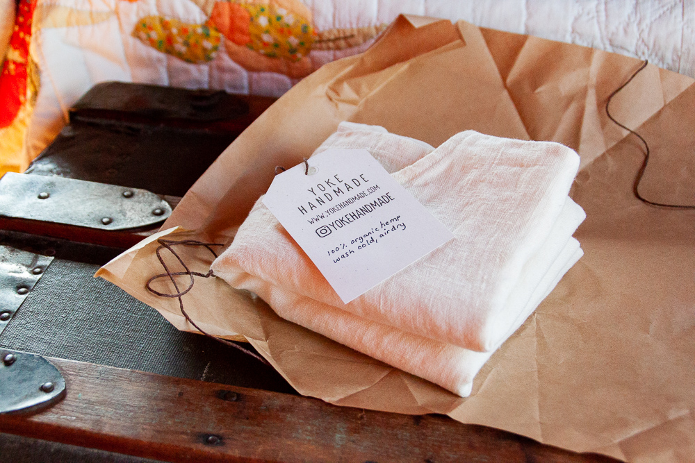 Hemp shirt from Yoke Handmade - Sarah Kirsten