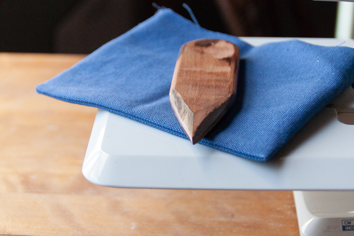 Handmade wooden point turners for sewing. Sewing tools  - Sarah Kirsten