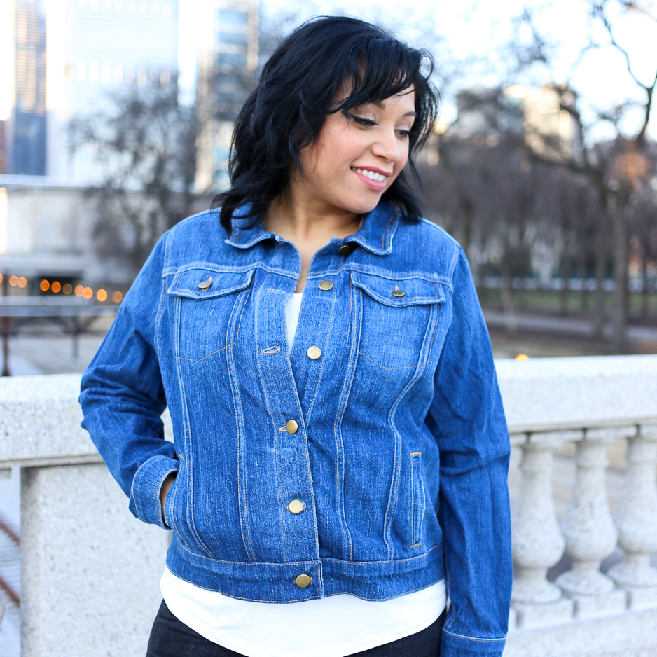 8 Denim Jean Jacket Sewing Patterns - Sarah Kirsten Blog