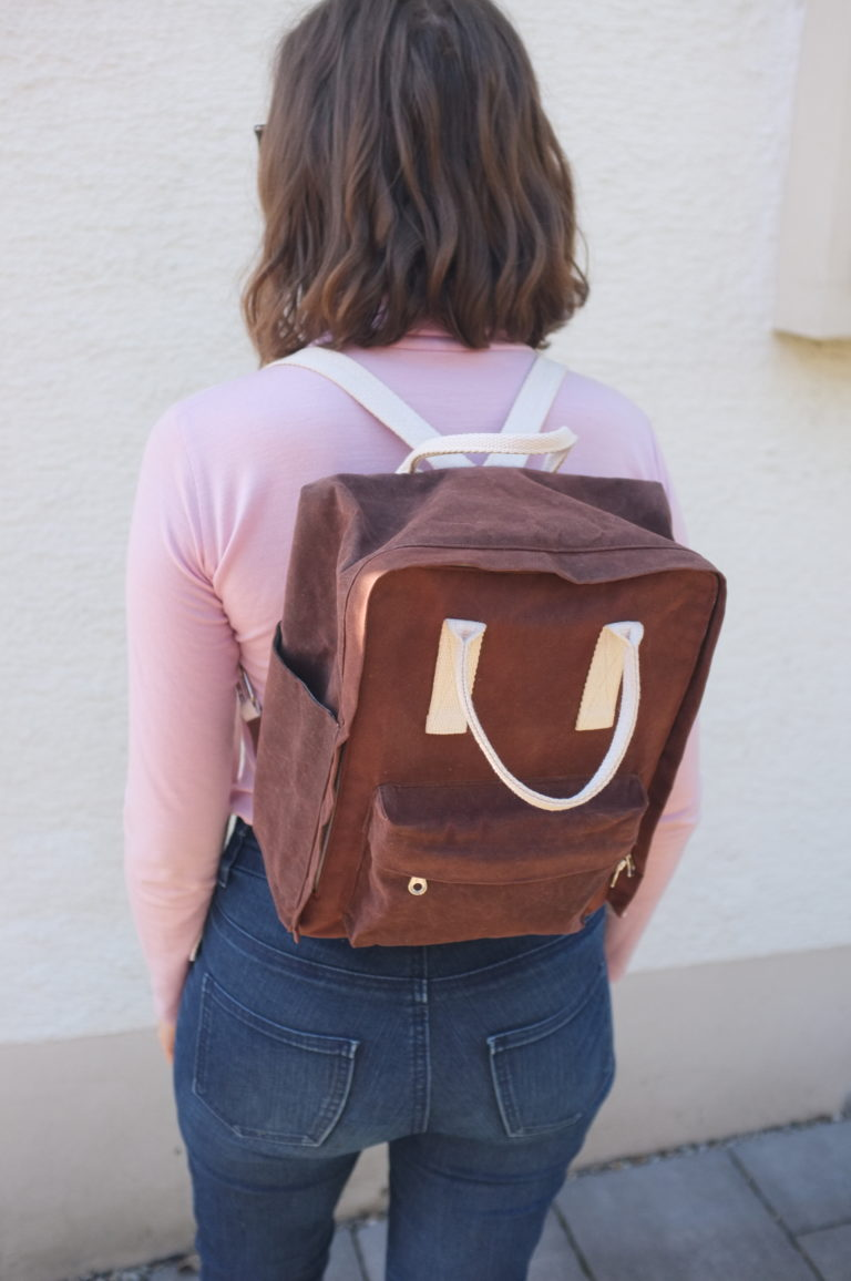 Raspberry Rucksack Sewing Pattern